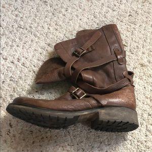 Steve Madden Leather Boot Sz 10
